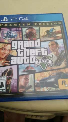 NEW GTA 5 PREMIUM ED PS4 CD