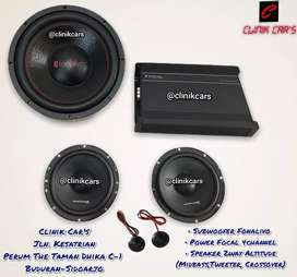 • Paket Audio Mobil 2way TER MANTEP