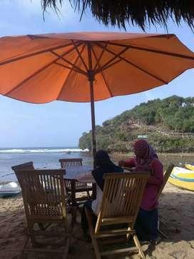 Meja set payung