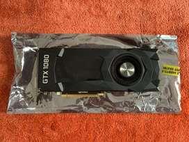 Brand New Nvidia Zotac Gtx1080 Graphic card BILL warranty gpu gtx 1080
