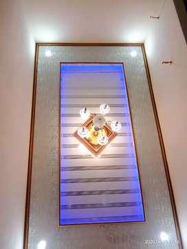 Plafon elegant ternyaman terindah mudah dibersihkan PVC