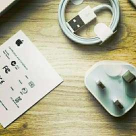 Charger + Kabel Data iPhone 5c KAKI 3 Garansi 1 Bulan