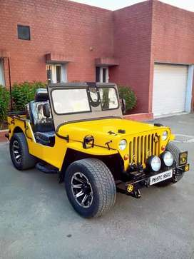 Open Modified Willy Jeeps on order ready in punjab all India delivery