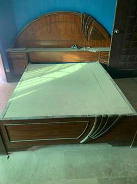 Double bed for sale only 2 years used