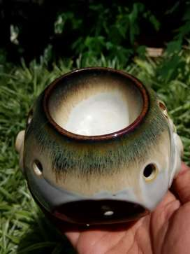 Elephant aroma therapy, porcelain..