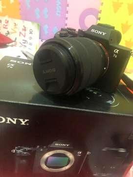 Sony A7 mark ii (cuman buka box)