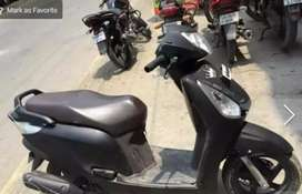 Honda aviator 2014 black disc break