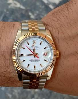 Rolex datejust two-tone authentic Luxury swiss watches