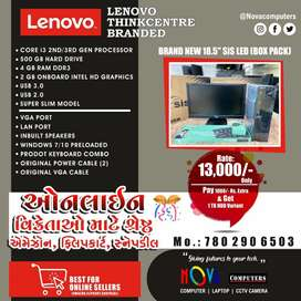 "Lenovo Computer Desktop Core i3 Full set with new 19"" led display"