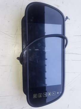 Roof mirror led