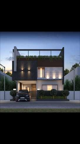 200 sq yd Villa