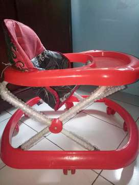 Baby walker milanelo red