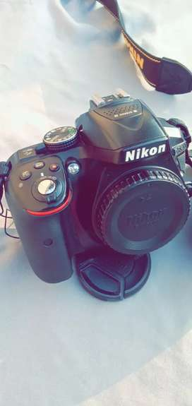 Nikon D5300 with 18-55mm