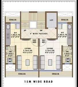 1 Room kitchen sec 15 kharkoper station