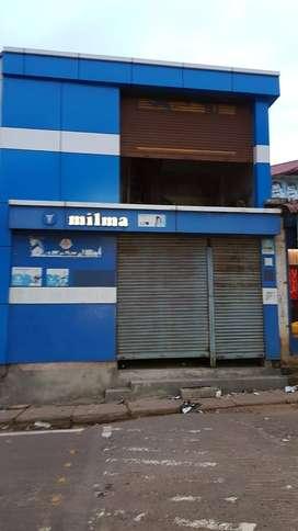 Double Floor Shop building in Chingavanam
