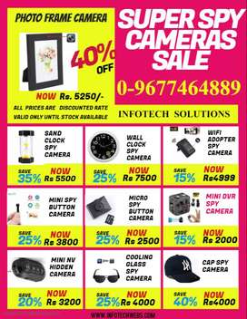 All Wifi CCTV / Spy Cameras Available for sale in Offer Price