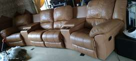 Sofa Theater Reclining Mewah Like New