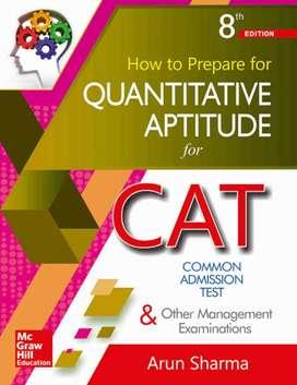 Arun sharma math book for CAT