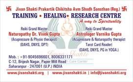 ReikiHealerDr.Vivek Gupta(Naturopathist,Acupressure & Physiotherapist)