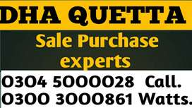 DHA QUETTA plotes sale purchase experts.
