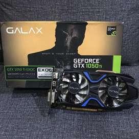 Vga Galax GTX 1050Ti 1050 ti EXOC 4GB DDR5 - Dual Fan