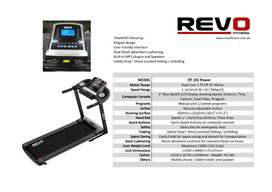 Best Treadmill Revo 101 Brand New Box Pack. 110kg Weight Capacity