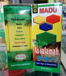 Madu 8in1 herbal jahe temulawak habbatusauda imun booster gurah