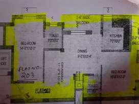 Flat no 203 of sanskar apartment mahatab road
