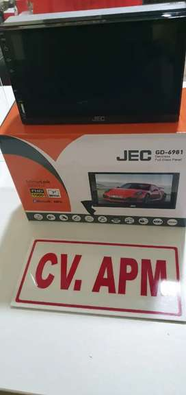 "Head unit double din mirror link android 7"" plus pasang di Tangerang"