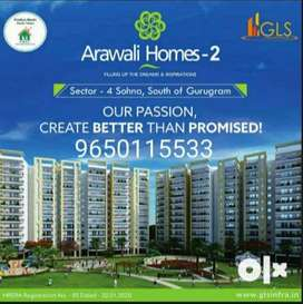 Get flats at prime location 3 bhk south gurgaon