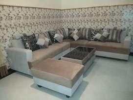 Sofa minimalisan kain halus