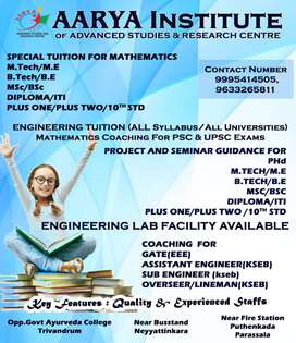 Tuition and Coaching