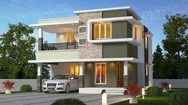 2150sqft-4BHK Villa For Sale with 5cent Land