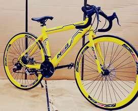 Neo road bike with 21 shimano gears
