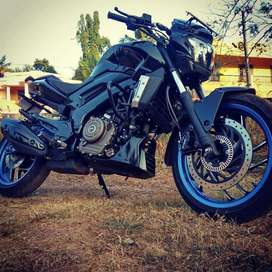 Dominar 400 ABS NO ACCIDENTS
