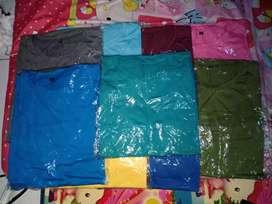 Jual Kaos Polos Bahan Cotton combed 30s