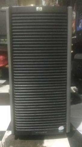 Jual Server Xeon Hp prolion ML350 hidup normal
