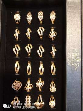 New chaina gold rings for girls at Zam Zam fashion and jewelry point