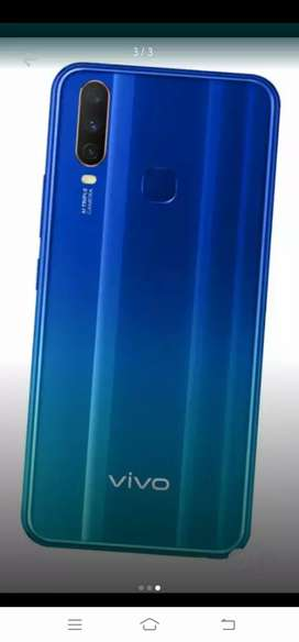 vivo y15 4 GB ram.64 GB memory  blue colour good condition