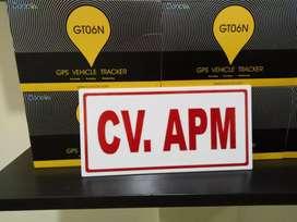 Paket murah GPS TRACKER gt06n pelacak canggih kendaraan, free server