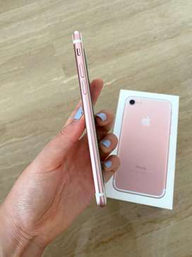 best condition of 7  in rose gold with full box