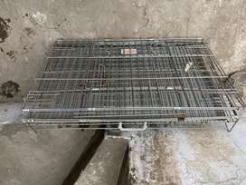 """Dog cage size 18""""x30"""" in good condition"""