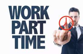 Earn monthly 25,000 to 30,000. Work from home. Typing job