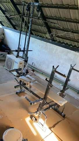Home mini gym set-up 20 in 1 mashine