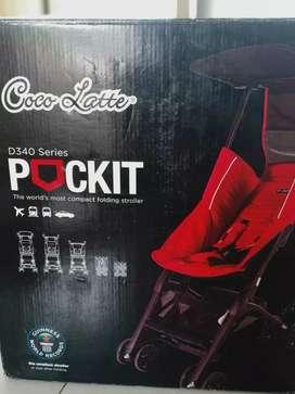 Preloved Stroller Cocolatte Pockit Gen 5- CL 789