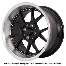 motif velg DOGIYAI 5043 HSR R16X75/875 H8X100-114,3 ET35/25 SMB/ML