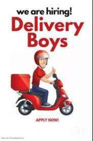 Need delivery boys at Goa Mapusa location.
