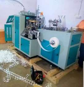 Automatic paper plate/cup/straw making machine