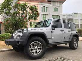 Wrangler Rubicon 3.6cc Nik2014 Titanium Grey 4Doors Elec.Foot Step