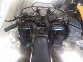 Four wheel bike in running condition only add better 100 cc   gear